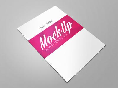 Free Download Best Flyer Mockup PSD (4)